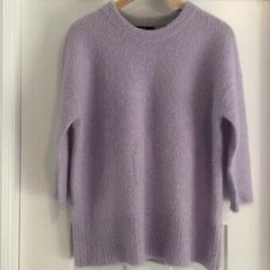Jcrew lilac boucle sweater